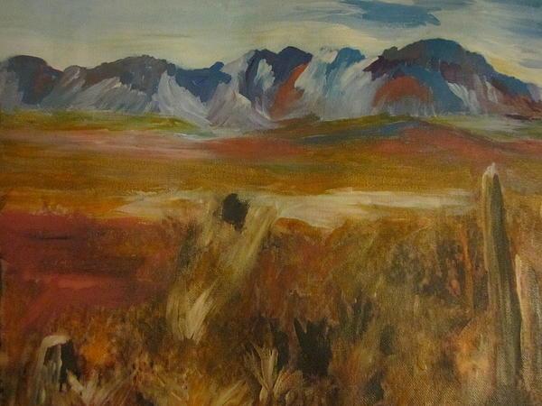 Mesa 1 Painting by David Poyant