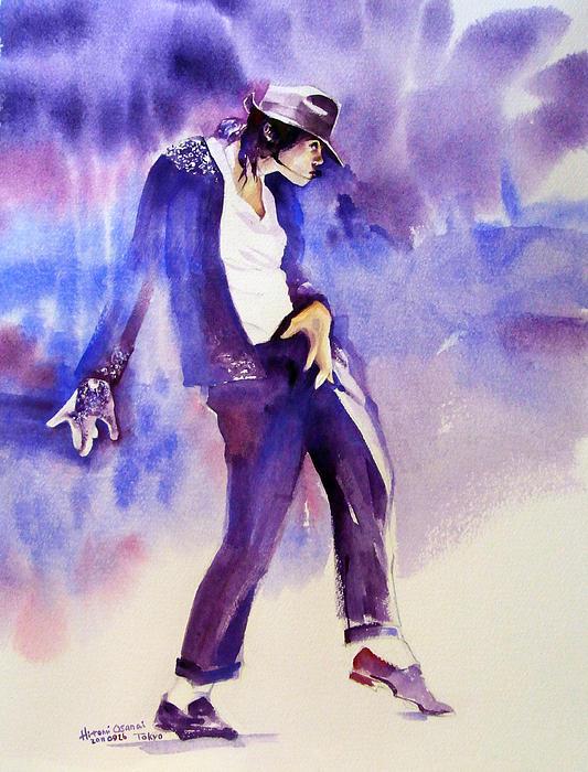 Michael Jackson Painting - Michael Jackson - Not My Lover by Hitomi Osanai
