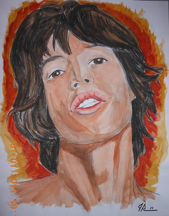 Mick Jagger Painting - Mick by Joseph Papale