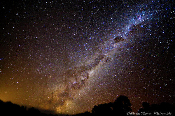 Astro Images Photograph - Milky Way Down Under by Charles Warren