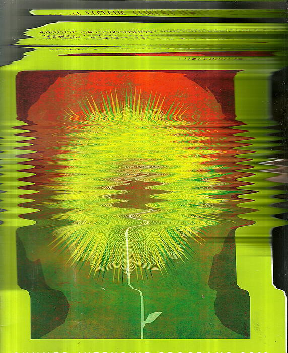 Magazine Cover Photograph - Mindful Abstraction by Anne-Elizabeth Whiteway
