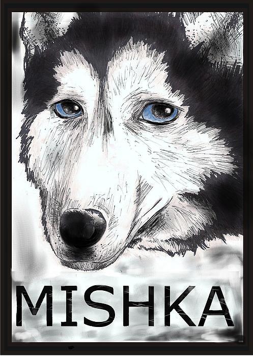 Mishka Fan Poster Drawing by Warren Lindsey
