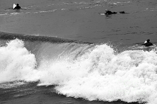 Waves Photograph - Missed Opportunity by John Rizzuto