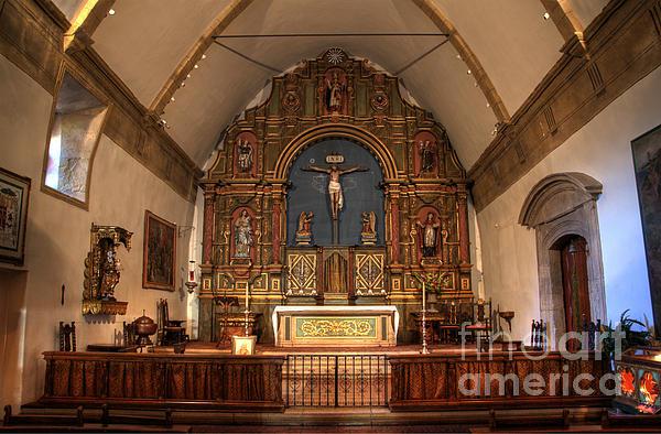 Carmel Photograph - Mission San Carlos Borromeo De Carmelo  11 by Bob Christopher