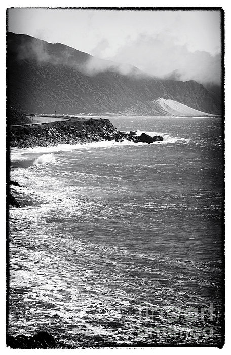 Pacific Coast Highway Photograph - Morning Along The Coast by John Rizzuto