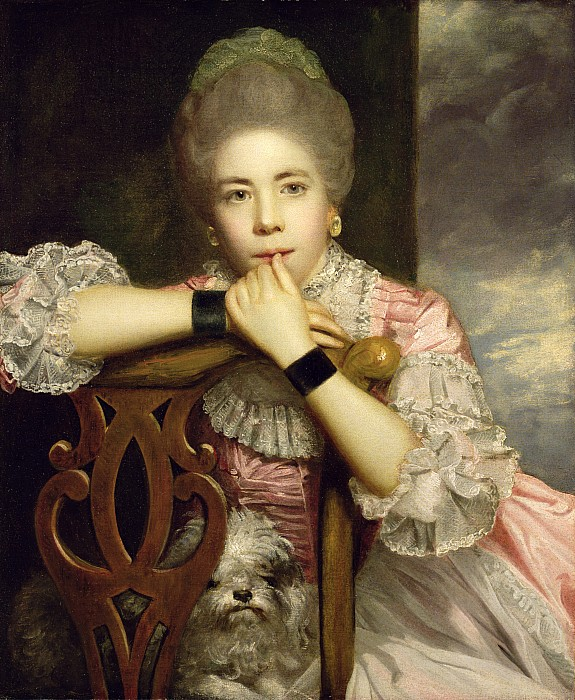 Mrs Photograph - Mrs Abington As Miss Prue In Congreves love For Love  by Sir Joshua Reynolds