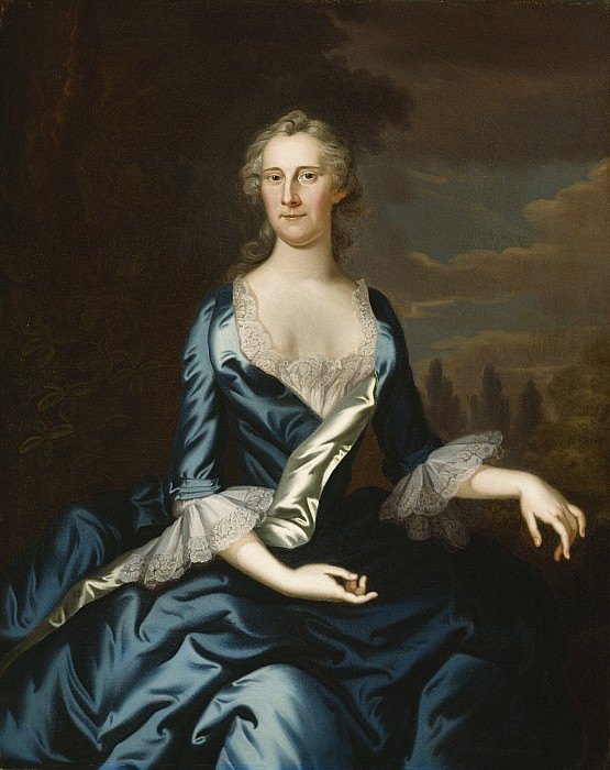 Mrs Painting - Mrs. Charles Carroll Of Annapolis by John Wollaston