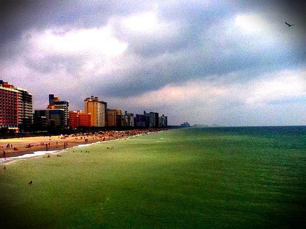 Beach Pyrography - Mrytal Beach by Jordan Jackson