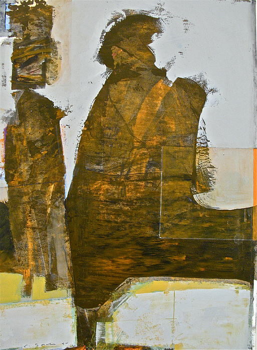 Abstract Paintings Painting - Mummy Shunt by Cliff Spohn