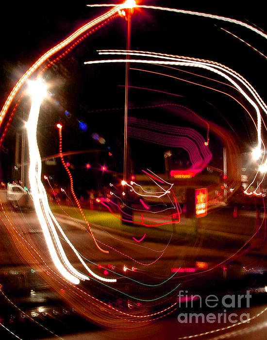 Neon Lights Photograph - Munchies After 2 by Peter Piatt