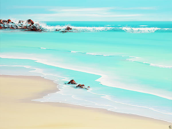 Seascapes Painting - My Hearts Wishes by Colin Perini
