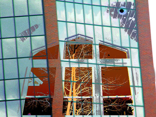Abstract Photograph - My Idea Of A Cathedral by Lenore Senior