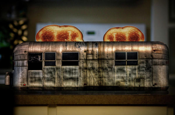 Airstream Photograph - My Old Toaster by Jan Maklak