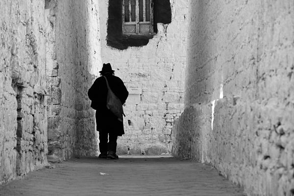 Tibet Photograph - Mystery Man by Marko Moudrak
