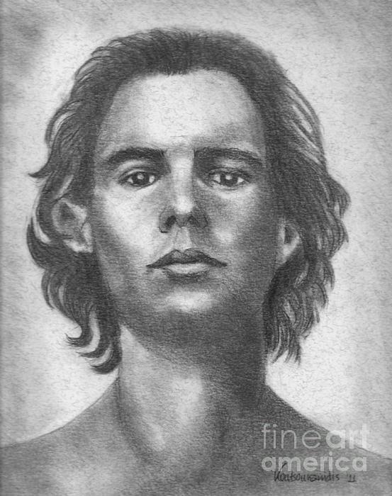 Rafael Nadal Drawing - Nadal by Kostas Koutsoukanidis