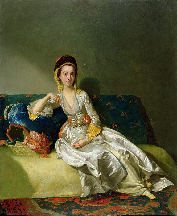 Nancy Photograph - Nancy Parsons In Turkish Dress by George Willison