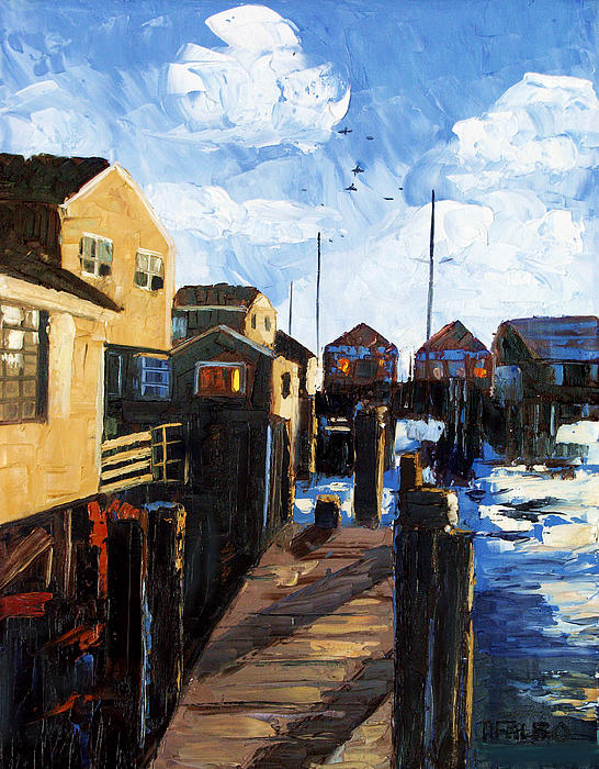 Nantucket Framed Prints Painting - Nantucket by Anthony Falbo