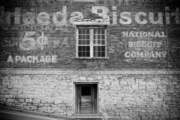Window Photograph - National Biscuit Company by Paul Bartoszek