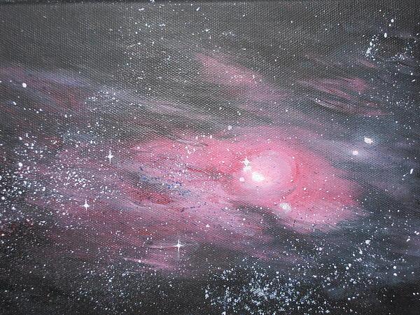 Nebula Painting - Nebula 1 by Siobhan Lawson