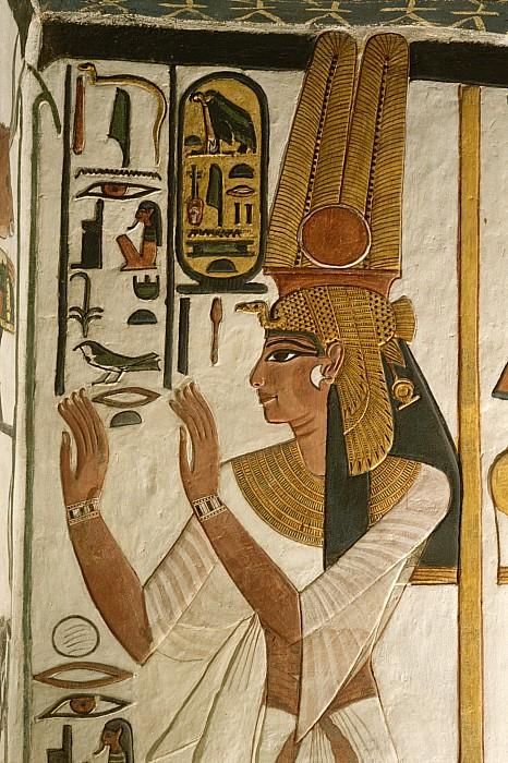 Africa Photograph - Nefertari Tomb Scenes, Valley by Kenneth Garrett