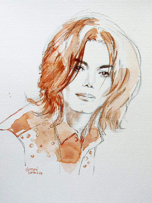 Michael Jackson Painting - New Inner Beauty by Hitomi Osanai
