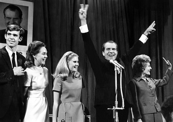 History Photograph - New President-elect Richard Nixon by Everett