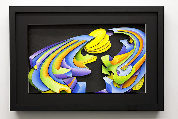 Abstract Relief - Night by Jason Amatangelo