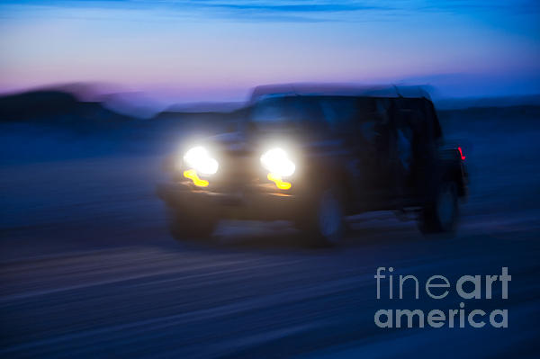 Adventure Photograph - Night Rider by John Greim