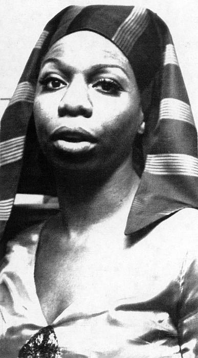 Egyptian Photograph - Nina Simone, 1978 by Everett