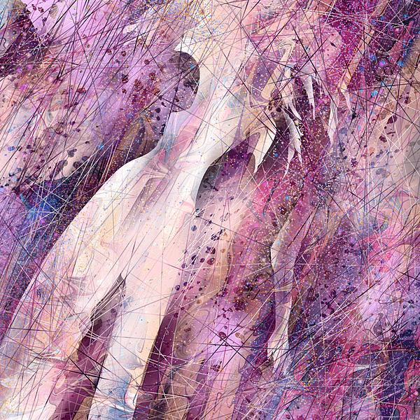 Abstract Digital Art - Not Forgotten by Rachel Christine Nowicki