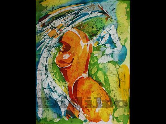 Nude Painting - Nude by Nadejda Lilova