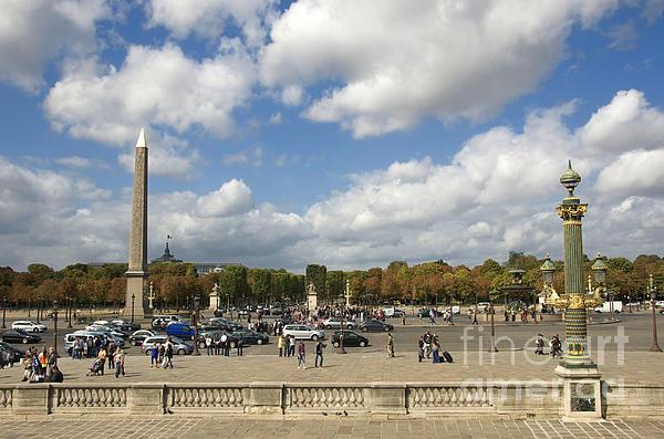 Paris Photograph - Obelisque Place De La Concorde. Paris. France by Bernard Jaubert