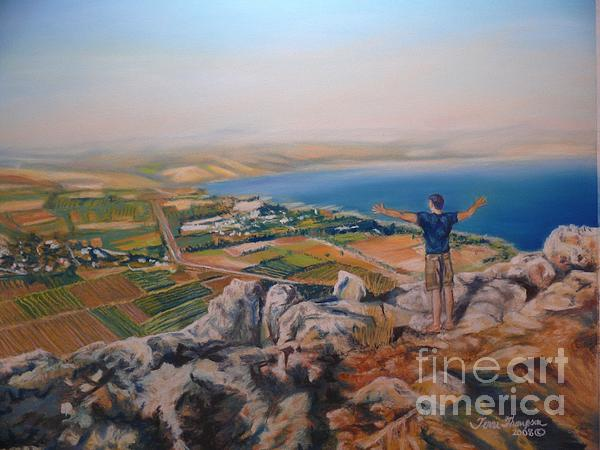 Isreal Painting - Oh Isreal by Terri Thompson