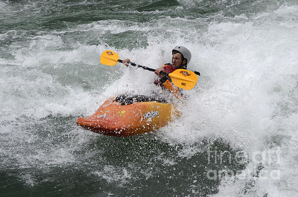 White Water Photograph - Oh What A Feeling by Bob Christopher