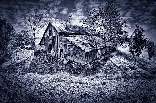 Farm Photograph - Old Barn by Donald Schwartz