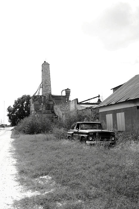 Grain Photograph - Old In Texas by Nina Fosdick