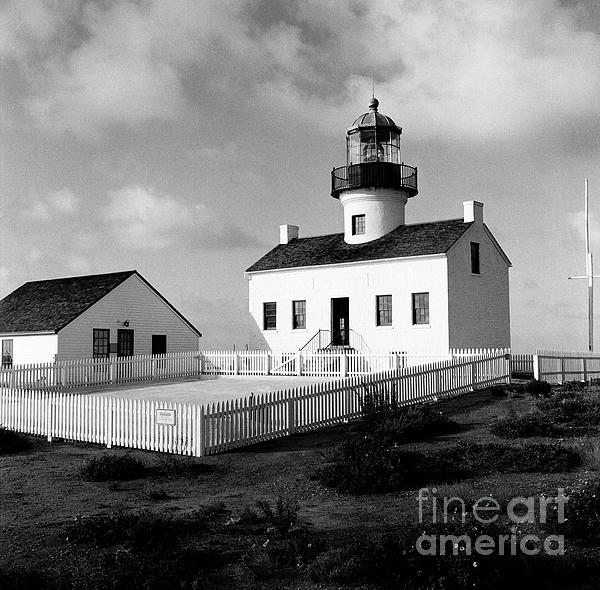 Cabrillo National Monument Photograph - Old Point Loma Lighthouse by Dean Robinson