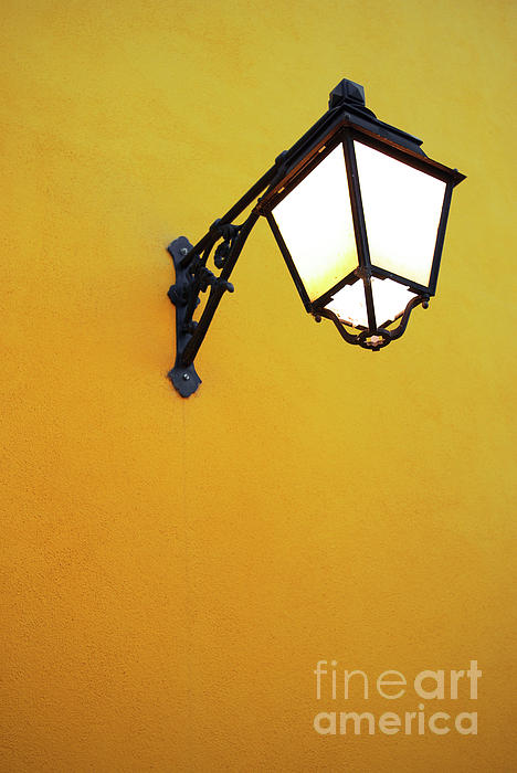 Background Photograph - Old Street Lamp by Carlos Caetano