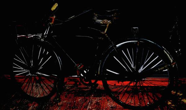 Bike Photograph - Old Way To Go by Jerry Cordeiro