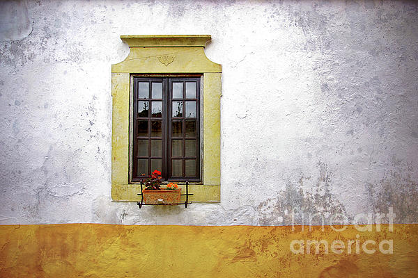 Address Photograph - Old Window by Carlos Caetano