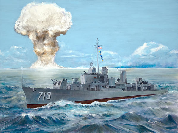 Operation Castle Painting - Operation Castle by Karen Wilson