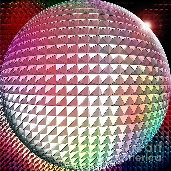 Digital Digital Art - Orb It by Cristophers Dream Artistry