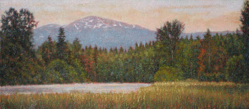 Mountain Scenes Painting - Original Carolina Clearing by Michael Story
