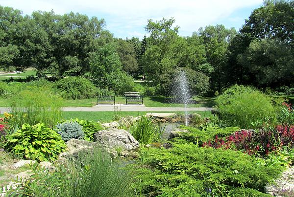 Botanical Garden Photograph - Oshawa Botanical Garden 3 by Sharon Steinhaus