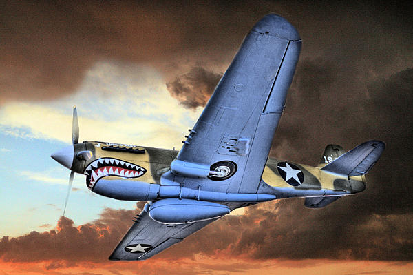 P40 Photograph - Out Of The Storm by JC Findley