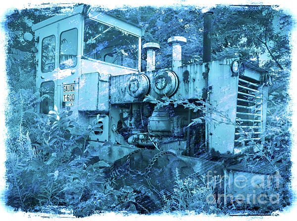 Bulldozer Photograph - Out To Pasture by Kevyn Bashore