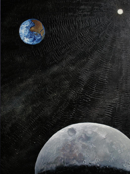 Sun Painting - Outer Space by Alan Schwartz