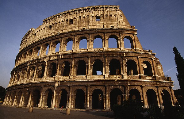 Colosseum Photograph - Outside Of The Collosseum, Rome, Italy by Paul Chesley