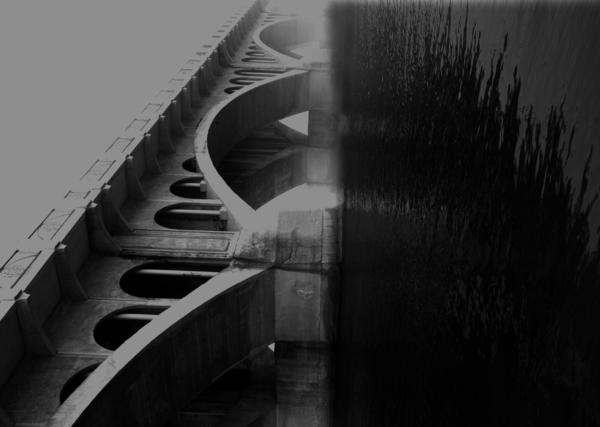 Elm Photograph - Over The Bridge by Jerry Cordeiro