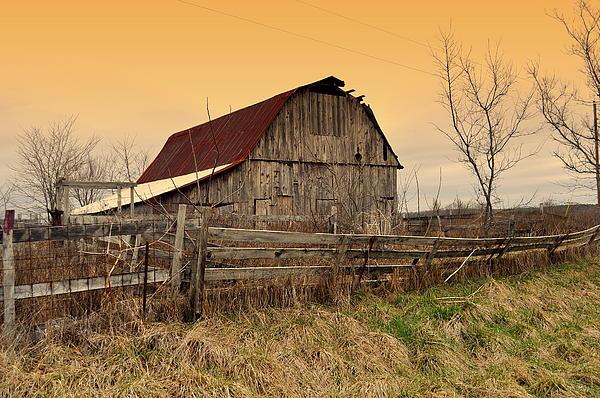 Barns Photograph - Ozark Barn 1 by Marty Koch